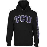 TCU Horned Frogs Back to Basics Pullover Hoodie - Black