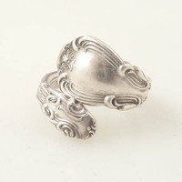 Size 7.5 Vintage Gorham Sterling Spoon Ring