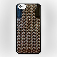 Goyard 7 for iPhone Case (iPhone 4/4s White Plastic)