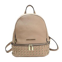 Michael Kors MK Woman Men Fashion Leather Backpack Bookbag Daypack