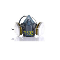 Promotion 7502 7Suits Half Gas Mask Respirator Pesticide Painting Spray Chemical Dust Filter Breathe Mask