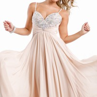 Beaded Sweetheart Gown by Princess Collection by Party Time