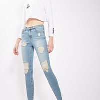 PETITE Super Ripped Jamie Jeans - New In