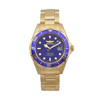 Invicta Men's Pro Diver Gold Tone Stainless Steel Watch (Yellow)