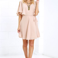 Butterfly With Me Peach Dress