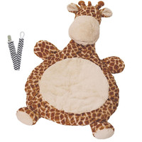 Mary Meyer 02531 Giraffe Bestever Baby Mat with Pacifier Clip