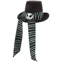 The Nightmare Before Christmas - Victorian Jack Mini Top Hat Adult - Costumes, 69025