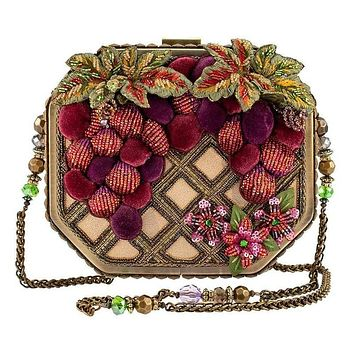 Handmade Grape Crush Vineyard Handbag