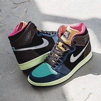 Nike Air Jordan 1 High OG WMNS AJ1 classic men and women high-top all-match casual sports basketball shoes