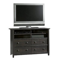 Black Bedroom Tall TV Stand Television Cabinet Furniture Console Drawers XBOX
