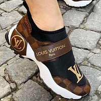 Louis Vuitton LV shoes Hot all-match casual shoes Men's and women's fashion sneakers Shoes
