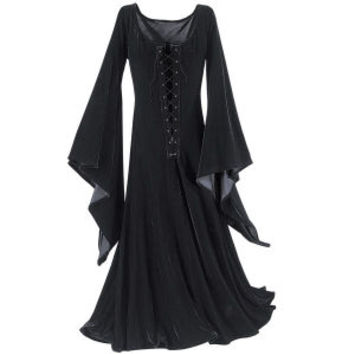 Witching Hour Dress - New Age, Spiritual Gifts, Yoga, Wicca, Gothic, Reiki, Celtic, Crystal, Tarot at Pyramid Collection