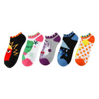 Disney Inside Out Characters No-Show Socks 5 Pair