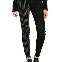 The Nightmare Before Christmas Jack Head Back Patch Pants