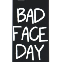 BAD FACE DAY IPHONE CASE