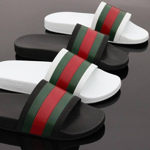 Image of Gucci Woman Men Fashion Casual Sandals Slipper Shoes