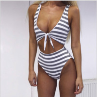 Fashion sexy hot two piece vest type two piece bikini light gray bath suit Grey bath suit