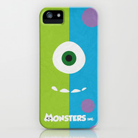 Monsters Inc - Minimalist Poster 02 iPhone & iPod Case by Misery