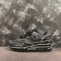 Nike Air Max 1 Sketch To Shelf Black Schematic Running Shoes - Best Deal Online
