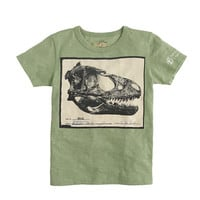 J.CREW FOR THE AMERICAN MUSEUM OF NATURAL HISTORY DINO SKULL TEE