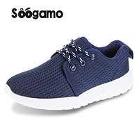 Clssic Solid boys and girls sneakers Fabric casual shoes kids Anti Slippery Hook loop flats comfortable breathable big boy shoes