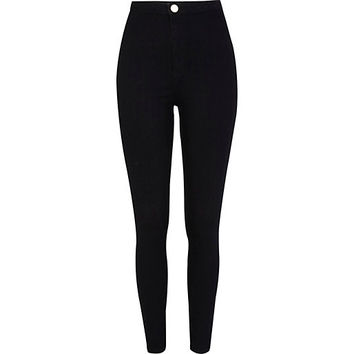 River Island Womens Black tube pants