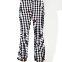 Hello Kitty Bow Gingham Trousers
