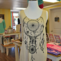 Dream Catcher Tank - Taupe