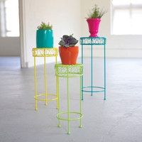 Paint by Number Plant Stands - Set of 3