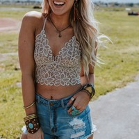 Eye Of The Sun Bralette - Taupe