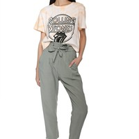 Daydreamer Rolling Stones Rebel Crop Tee