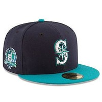 Edgar Martinez Seattle Mariners New Era Number Retirement 59FIFTY Fitted Hat Cap