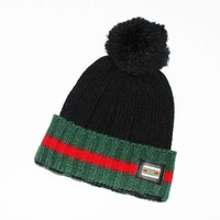 DCCKSP2 GUCCI Fashion Winter Knit Women Beanies Hat Cap