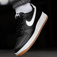 Nike Air Force 1 AF1 low-top breathable anti-wear cushioning fashion casual sneakers shoes