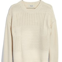 Madewell Stitchmix Pullover | Nordstrom