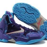 "LeBron 11 XI P.S Elite ""Dark Purple"" Sneaker Shoe"