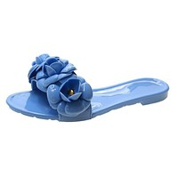 New Floral Slippers Women Slippers Indoor Casual Slippers Beach Slipper Flip Flops Slides Jelly Shoes Zapato
