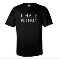 Game of Thrones Inspired I Hate Joffrey TShirt by GetPersonalGifts