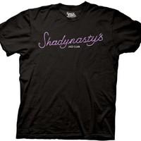 It's Always Sunny in Philadelphia Shadynasty's Jazz Club Black Mens T-shirt