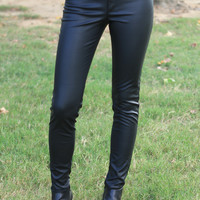 The Go-To Faux Leather Pants