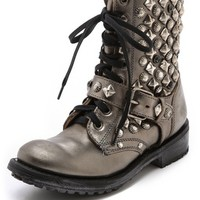 Ash Ryanna Studded Lace up Booties | SHOPBOP