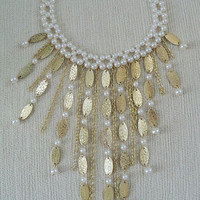 Beautiful Bib Drop Necklace