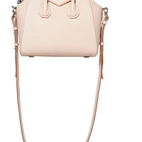Givenchy - Mini Antigona shoulder bag in pastel-pink leather