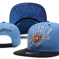 Perfect Oklahoma City Thunder hats Women Men Embroidery Sports Sun Hat Baseball Cap Hat
