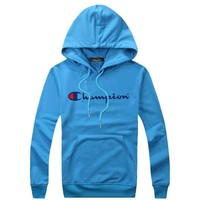 Champion Women Men Fashion Casual Top Sweater Pullover Hoodie-24