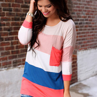 Bright Beginnings Top - Coral
