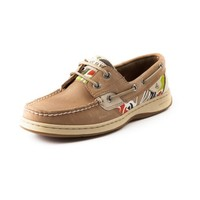 Womens Sperry Top-Sider Bluefish Boat Shoe, Tan Cabana Floral, at Journeys Shoes