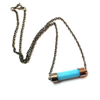 Castiel's Glow In The Dark Angel Grace Vial Necklace (Supernatural Inspired)