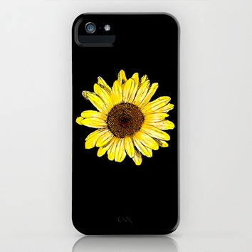 Sunflower iPhone & iPod Case by Kai Gee