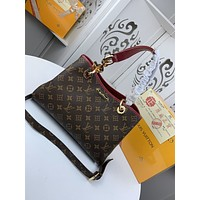 New LV Louis Vuitton Women's Leather Shoulder Bag LV Tote LV Handbag LV Shopping Bag LV Messenger Bags  829